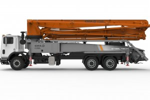 K38L Truck-Mounted Concrete Boom Pump