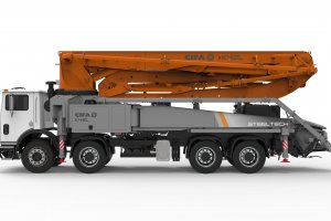 K42L Truck-Mounted Concrete Boom Pump
