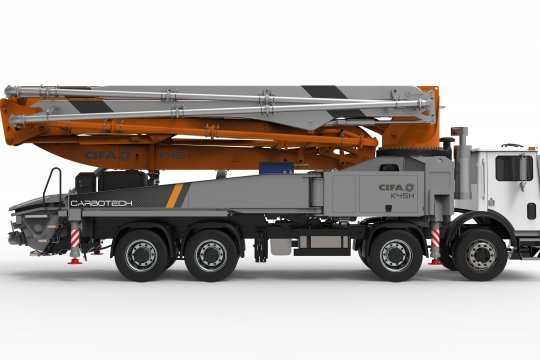 K45H Truck-Mounted Concrete Boom Pump