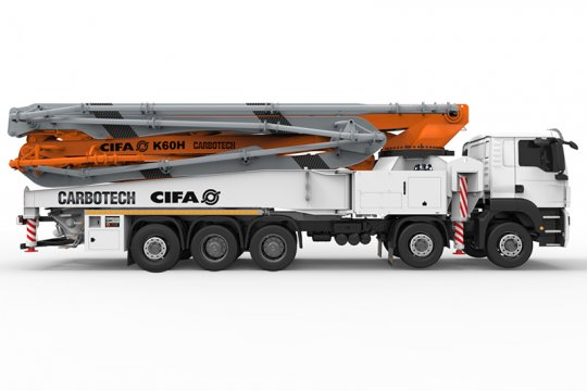 K60H Truck-Mounted Concrete Boom Pump