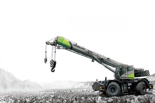 Zoomlion RT60 Rough-Terrain Crane