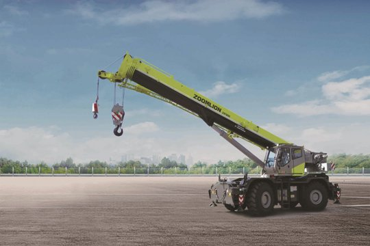 ZRT850 Rough Terrain Crane
